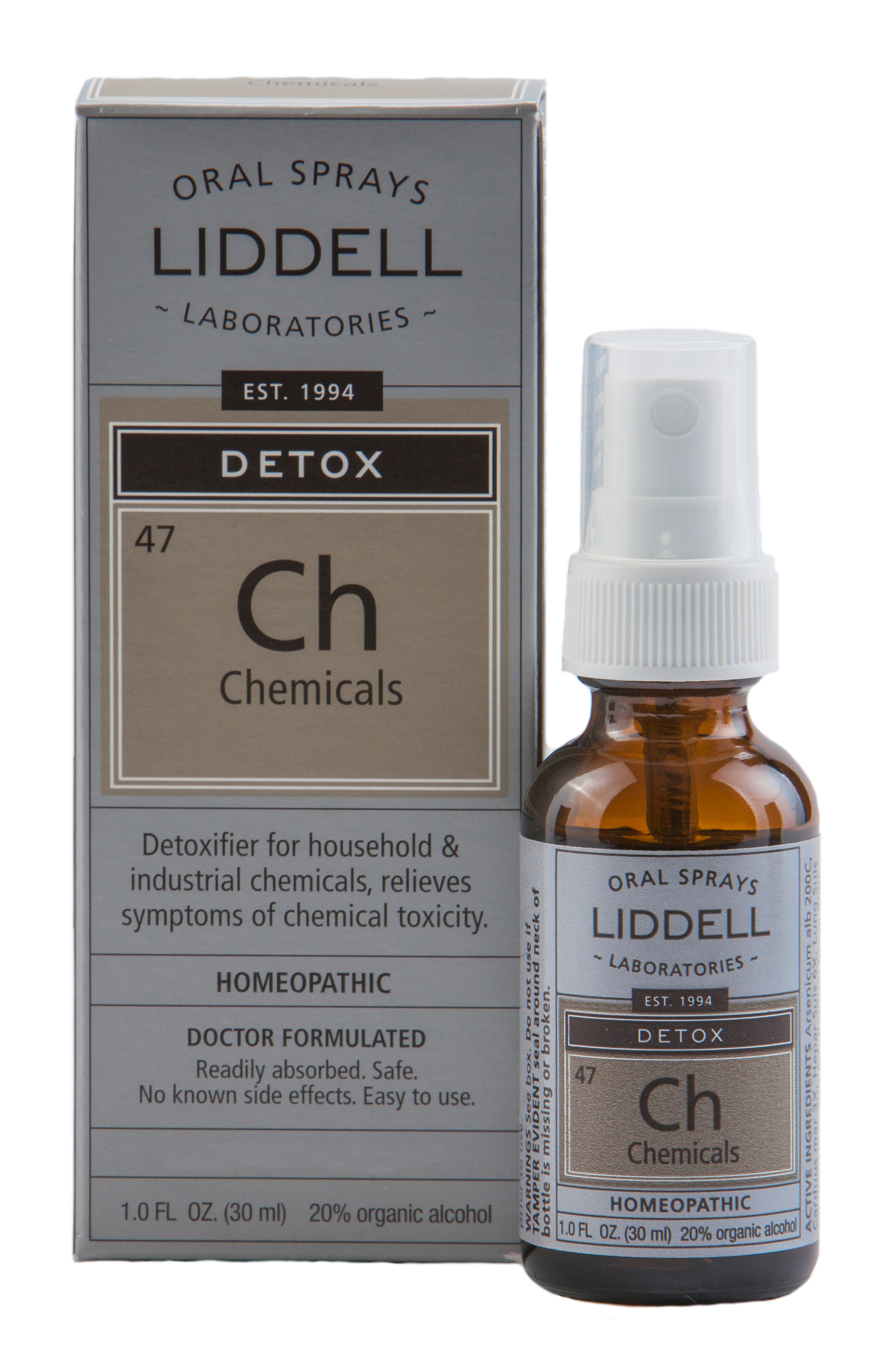 Ch, Chemicals Detox