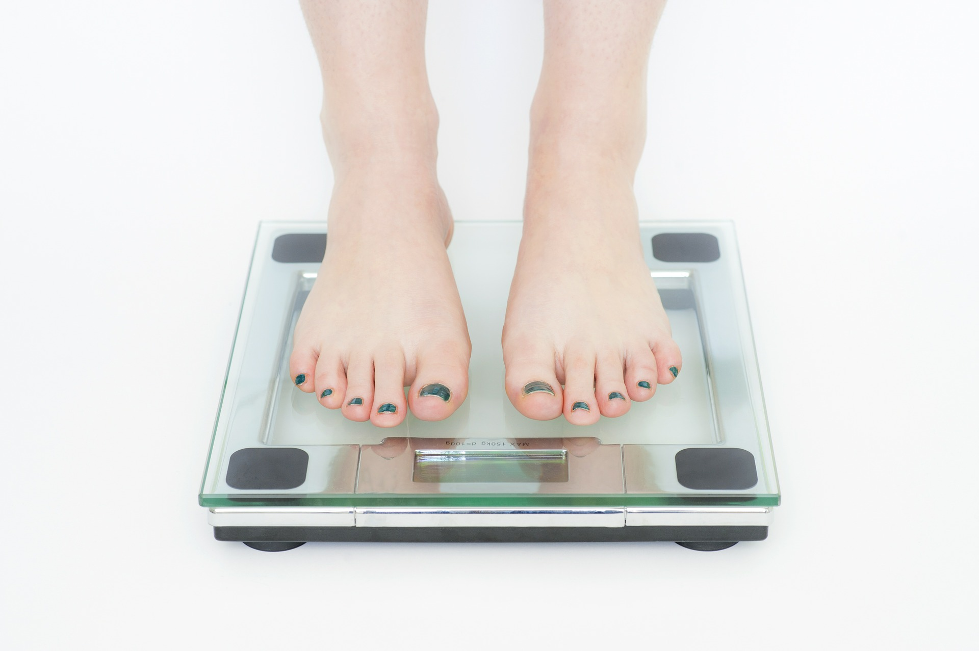weight loss - on scale