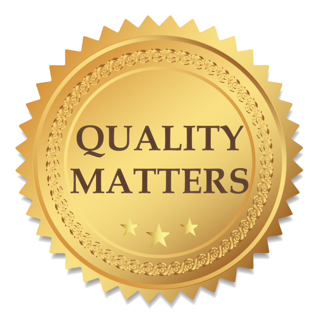 Quality Matters - badge