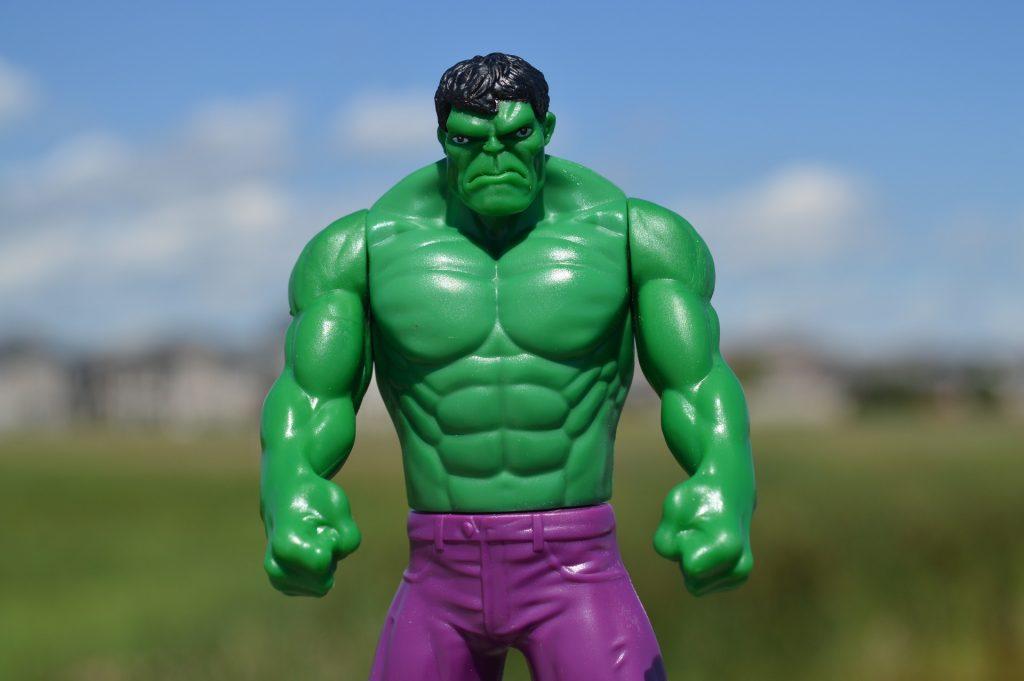 Emotional outburst - Hulk