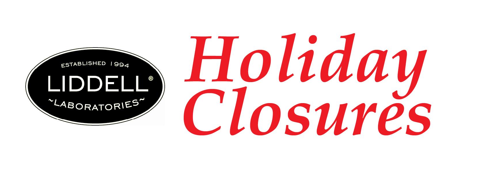 Holiday Closures LD